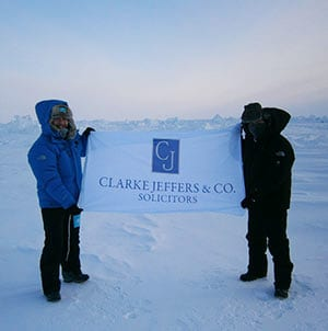 Clarke Jeffers | Commercial Solicitors in Dublin & Carlow at the North Pole